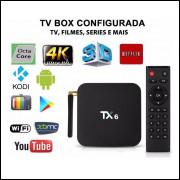 Top TX BOX 4k TX6 3G RAM 32G ROM ANDROID 9.0 ALICE UX