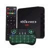 TV box mxq pro 4k 2g ram 16g rom Android 9.0 + Grátis Teclado Led