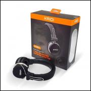 Fone De Ouvido Sem Fio Bluetooth Kaidi Kd801 Original Bass atacado e varejo