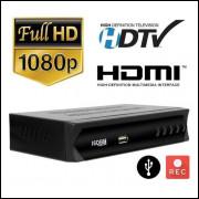 Conversor E Gravador Digital De Tv Full Hd Isdbt Terrestre atacado e varejo